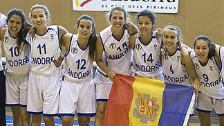 Hosts Andorra are crowned champions at the U18 European Championship Women Division C